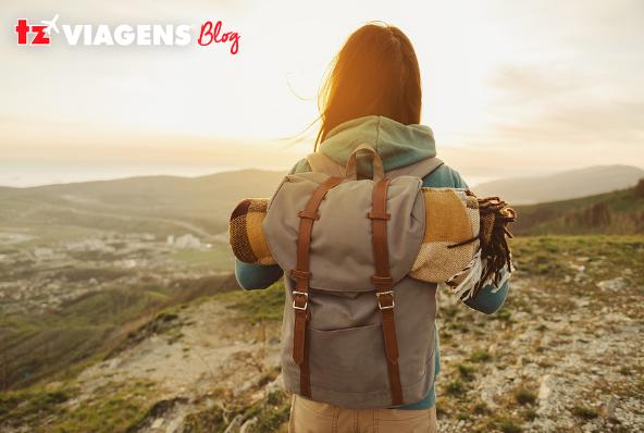Check-list de viagem para a montanha ou campo