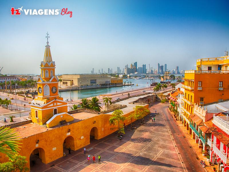 Torre do Relógio Cartagena das Índias (Colômbia)