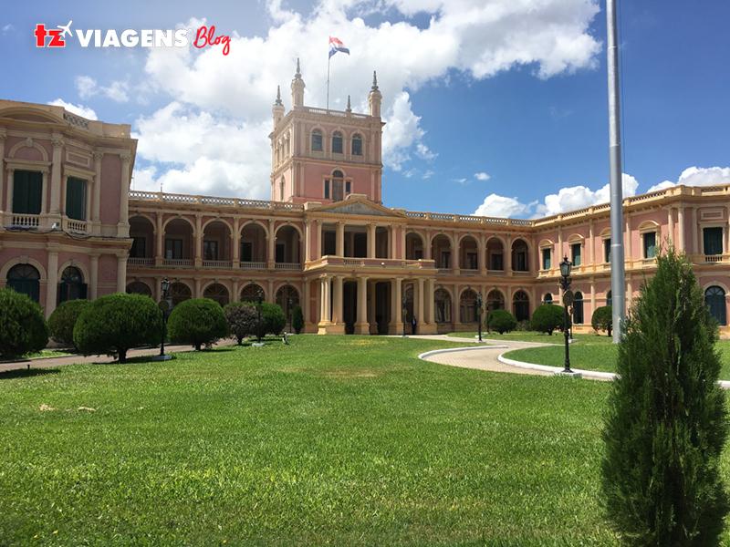 Palacio Los López sede do governo da República do Paraguai