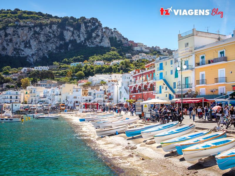 Ilha de Capri (Itália)